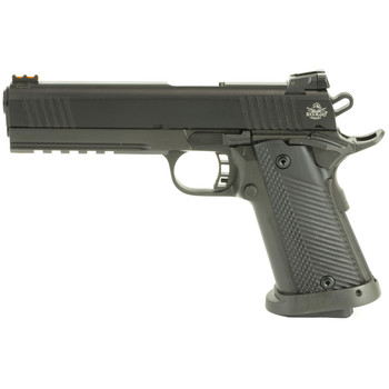 "Armscor Rock Island 2011, 22TCM, 9MM, 5""Barrel,  Steel Frame, Black Finish, G10 Grips, 17Rd 51947, UPC :4806015519478"