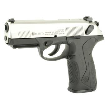 "Beretta PX4 Storm, Semi-automatic, Double Action, Full Size Pistol, 40 S&W, 4"", Polymer Frame, INOX Finish, 14Rd, 2 Mags, Picatinny Rail, Ambidextrous, 3 Dot Sights JXF4F51, UPC : 082442172958"
