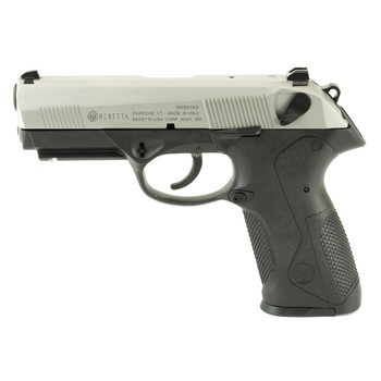"Beretta PX4 Storm, Semi-automatic, Double Action, Full Size Pistol, 40 S&W, 4"", Polymer Frame, INOX Finish, 14Rd, 2 Mags, Picatinny Rail, Ambidextrous, 3 Dot Sights JXF4F51, UPC : 082442172958"