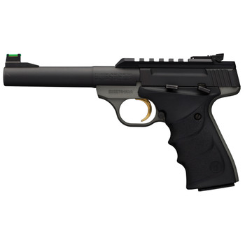 "Browning Buck Mark Plus Practical, Semi-automatic Pistol, 22LR, 5.5"" Bull Barrel, Aluminum Frame, Black Finish, URX Grip, Fiber Optic Front Sight, 1913 Picatinny Rail Optic Base, 10Rd 051530490, UPC : 023614444008"