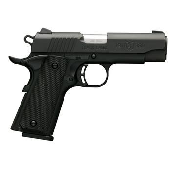 Browning 1911-380, Black Label, Semi-automatic, Compact, 380ACP, 3.63 Barrel, Polymer Frame, Black Finish, Black Polymer Grips, 8Rd 051905492, UPC : 023614044468