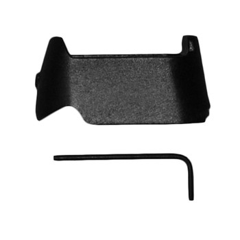Pachmayr Mag Spacer, Grip Extension, Black, Adapt Full-Size Magazines For Use With Compact Handguns, For Glock 19/23 Mags 3852, UPC : 034337038528