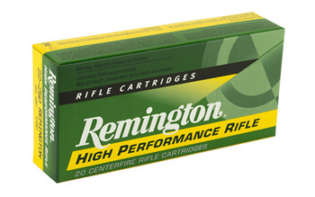 Remington Core Lokt, 22-250, 55 Grain, Pointed Soft Point, 20 Round Box 21311, UPC : 047700051208