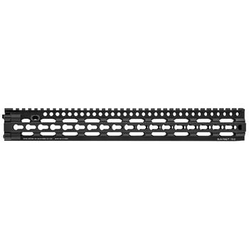 "Daniel Defense Slim Rail (Slim, Lightweight, Modular), 15"", Rifle Length, Free Floating Barrel Design, Black Finish 01-147-22026, UPC :815604016698"