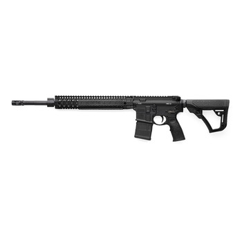 "Daniel Defense MK12 Semi-automatic Rifle, 223 Rem/556NATO, 32Rd, 18"" Barrel, Stainless Steel Finish, Daniel Defense Furniture, 1-32Rd Daniel Defense Magazine 02-142-13175-047, UPC :815604015318"