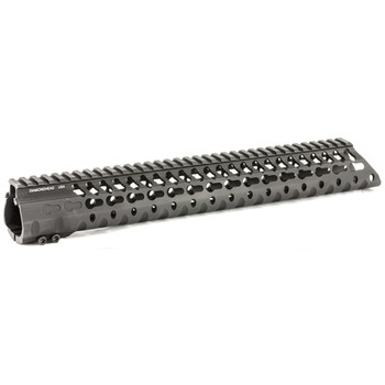 "Diamondhead USA, Inc. VRS-T Free-Floating KeyMod Handguard Rail, Fits AR-15, 13.5"", Black Finish 2235, UPC :857880003788"