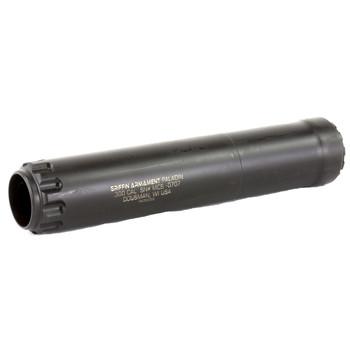 "Griffin Armament Paladin, Suppressor, 7.6"" Long, 1.5"" Diameter, 19.5 oz, 300Win, 17-4PH Stainless Steel, Black High Temp Griffin Endura-Kote GAALPHA, UPC :791154080948"