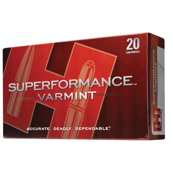 Hornady Superformance, 243WIN, 95 Grain, SST, 20 Round Box 80463, UPC : 090255804638