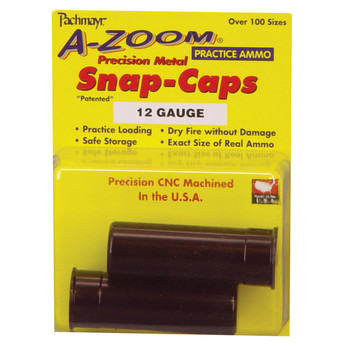 A-Zoom Snap Caps, 12 Gauge, 2 Pack 12211, UPC :666692122118