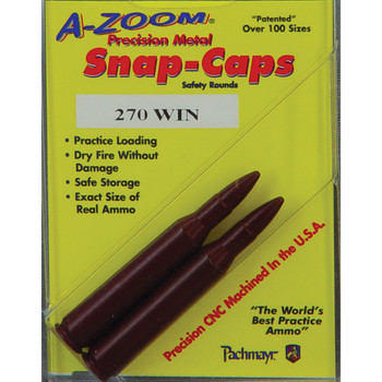 A-Zoom Snap Caps, 270 Win, 2 Pack 12224, UPC :666692122248
