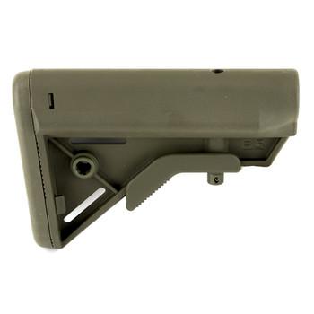 B5 Systems BRAVO Stock, Mil Spec, Quick Detach Mount, OD Green BRV-1104, UPC :814927020108