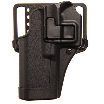BLACKHAWK! CQC SERPA Holster With Belt and Paddle Attachment, Fits Glock 21, S&W MP, Left Hand, Black 410513BK-L, UPC :648018014918