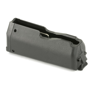 Ruger Magazine, .3006 & .270Win, 4Rd, Black, Fits Ruger American Long Action 90435, UPC :736676904358