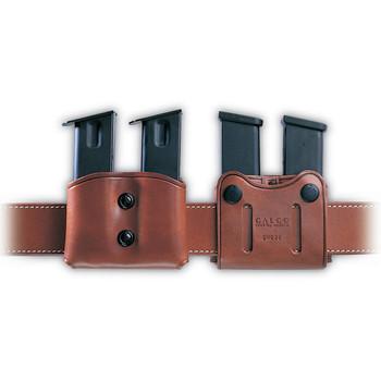 Galco DMC Pouch, Fits Single Stack Magazines 45ACP, Ambidextrous, Tan Leather DMC26, UPC :601299037038