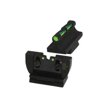 Hi-Viz Litewave Sight, Fits Rug 10/22, 3 Color Red, White, Green, Front/Rear RG1022, UPC :613485589238