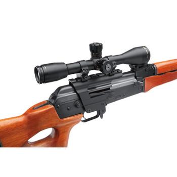 B-Square Receiver 1 Piece Base, Fits AK-47/MAK-90, Includes Rings, Matte 18600, UPC : 054082186008