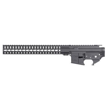 CMMG Mk4, Semi-automatic, Matching Lower/Upper/Handguard Set, 223 Rem/556NATO, Sniper Gray Finish 55F7C39-SG, UPC :815835018348