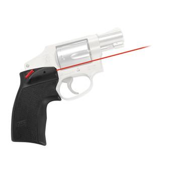 Crimson Trace Corporation Defender Series, Accu-Grips Laser, Fits S&W J-Frame & Taurus 85, Black Finish DS-124, UPC :610242004508