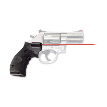 Crimson Trace Corporation Hi-Brite LaserGrip, Fits Compact Smith & Wesson K, L-Frame Round Butt, Rubber Overmold LG-306, UPC :610242003068