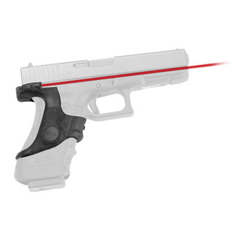 Crimson Trace Corporation LaserGrip, Fits Glock 17/19, Black LG-417, UPC :610242000708