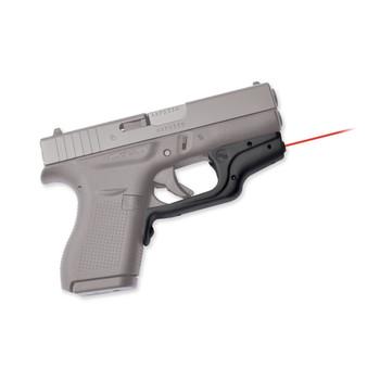 Crimson Trace Corporation Laserguard, Red Laser, For Glock 42 and 43, Black Finish LG-443, UPC :610242005598