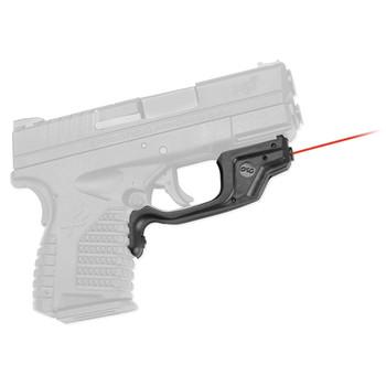 Crimson Trace Corporation Laserguard, Red Laser, Fits Springfield XD-S, Black Finish, User Installed LG-469, UPC :610242004638