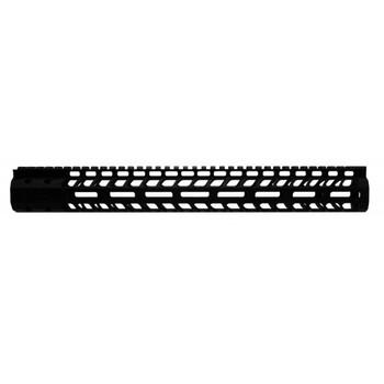 "Ergo Grip Superlite Modular M-LOK Rail, Fits AR/M4, 15"", Black Finish 4820-15, UPC :874748006408"