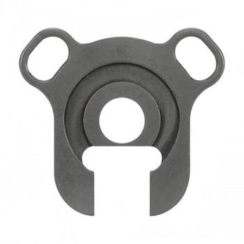 Ergo Grip Double Sling Loop End Plate, Fits Mossberg 500/590, Black 4969, UPC :874748003278