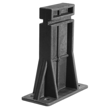 "Ergo Grip Stand, Fits AR10, Supports Lower for Cleaning/Maintenance/Light Assembly/Storage, 1/4"" Mounting Holes, Black Finish 4989, UPC :874748005548"