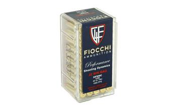 Fiocchi Ammunition Rimfire, 22WMR, 40 Grain, Full Metal Jacket, 50 Round Box 22FWMC, UPC :762344710068