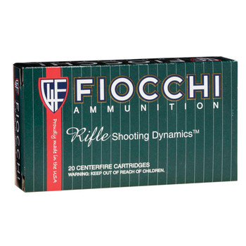 Fiocchi Ammunition Rifle, 243WIN, 70 Grain, Pointed Soft Point, 20 Round Box 243SPB, UPC :762344704258