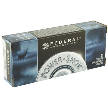Federal PowerShok, 223REM, 64Grain, Soft Point, 20 Round Box 223L, UPC : 029465095048