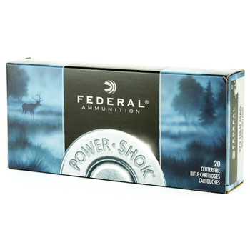 Federal PowerShok, 375H&H, 300 Grain, Soft Point, 20 Round Box 375B, UPC : 029465085728