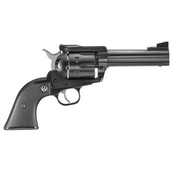 "Ruger Blackhawk, Single-Action Revolver, 357 Mag, 4.6"" Barrel, Blued Finish, Alloy Steel, Black Checkered Hard Rubber Grips, Adjustable Rear & Ramp Front Sight, 6Rd 00306, UPC :736676003068"