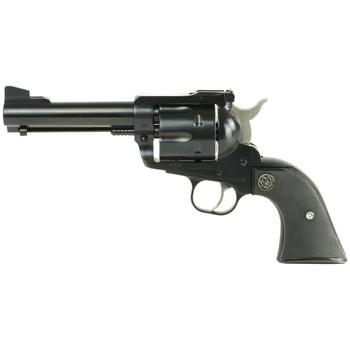"""Ruger Blackhawk, Single-Action Revolver, 41 Rem Mag, 4.6"""" Barrel, Blued Finish, Alloy Steel, Black Checkered Hard Rubber Grips, Adjustable Rear & Ramp Front Sight, 6Rd 00405, UPC :736676004058"""