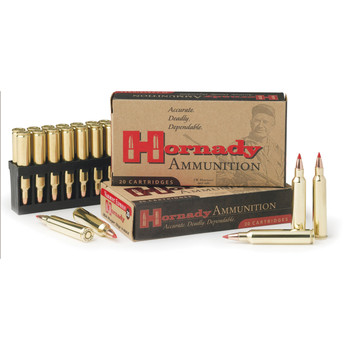 Hornady Superformance, 204 Ruger, 40 Grain, V-Max, 20 Round Box 83206, UPC : 090255832068