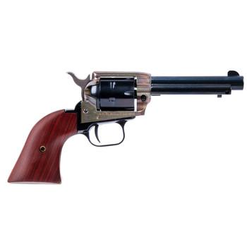"Heritage Rough Rider, Single Action Revolver, 22LR, 4.75"" Barrel, Alloy Frame, Case Hardened Finish, Cocobolo Grips, 6Rd RR22CH4, UPC :727962510278"