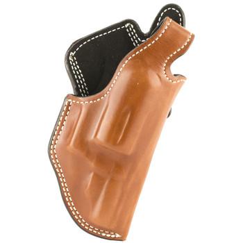 Desantis Dual Angle Hunter Belt Holster, Fits SW Governor, Right Hand, Tan Leather 016TCV1Z0, UPC :792695306658
