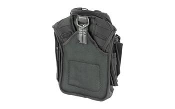 NCSTAR First Responder Utility Bag, Nylon, Black, MOLLE / PALS Webbing, Rear Concealed Carry Pocket, Shoulder Strap CVFRB2918B, UPC :814108015718