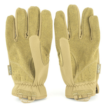 Mechanix Wear Gloves, M, Coyote Brown, Fastfit FFTAB-72-009, UPC :781513638668