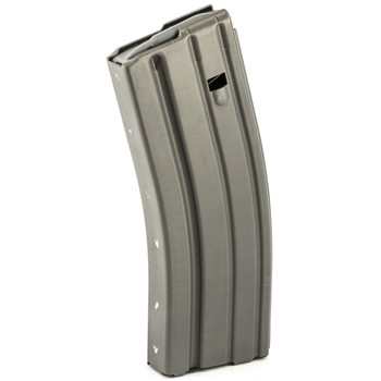Ammunition Storage Components Magazine, 223 Rem, Fits AR-15, 30Rd, Aluminum, Gray 223-30RD-AL-G, UPC :818805011448