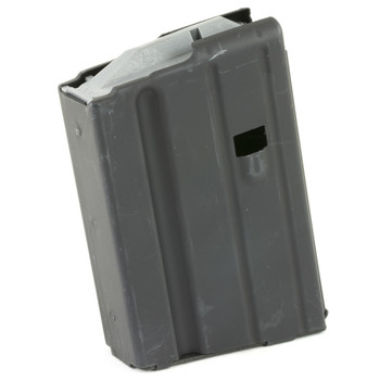 Ammunition Storage Components Magazine, 6.8 SPC, Fits AR Rifles, 10Rd, Stainless, Black 6.8-10RD-SS, UPC :818805010168