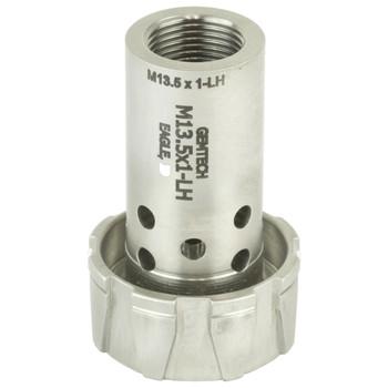 Gemtech Gemtech, GM-45/Blackside Threaded Piston Adapter, M13.5x1 LH Thread Pitch 12188, UPC :609224347108