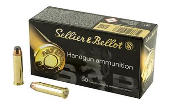 Sellier & Bellot Pistol, 357MAG, 158 Grain, Soft Point, 50 Round Box SB357B, UPC :754908500468