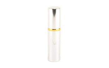 PS Products Hot Lips Pepper Spray, .75 oz., Lipstick Disguised Pepper Spray, Silver LSPS14-SLV, UPC :797053003668