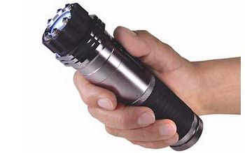 PS Products ZAP Light, Stun Gun, Flashlight, Black/Gray, 1,000,000 Volts, Includes Recharger ZAPL, UPC :797053100008
