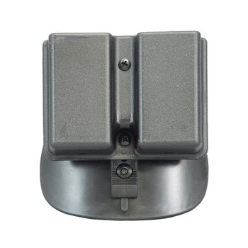 Uncle Mike's Kydex Paddle Case, Fits Double Stack Double Magazine, Black 5136-2, UPC : 043699513628