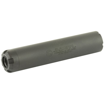 "SilencerCo Sparrow 22, Rimfire Suppressor, 22LR/17HMR/22MAG/5.7MM, 5.08"", 1/2X28, Alloy Steel Frame, Black Finish SU75, UPC :817272010008"
