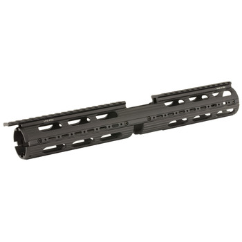 "Leapers, Inc. - UTG Handguard, Fits AR Rifles, 15"" Super Slim Drop-in, Black, Includes two 2-Slot and two 4-Slot rail sections MTU015SS, UPC :4717385550278"