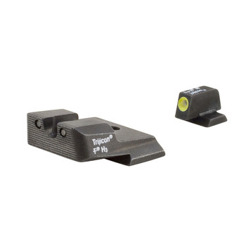 Trijicon HD Tritium Night Sights, Fits MP, Yellow Outline SA137Y, UPC :719307209718